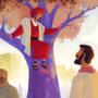Zacchaeus Meets Jesus | Bible Story Teaching Picture